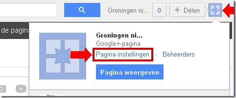 Google+ Pagina Verwijderen 1