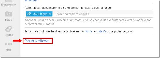 Google+ Pagina Verwijderen 2
