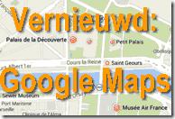 Vernieuwd - Google Maps