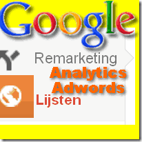 Google Analytics remarketing lijsten
