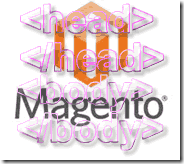 Magento code in body head tag