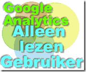 Google Analytics alleen lezen gebruiker2