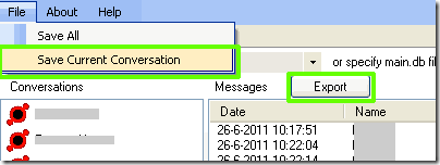 skype log viewer export chat