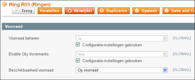 Magento configureerbaar product toevoegen