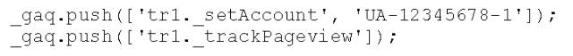 Classic Analytics tracking met twee properties